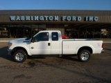 2012 Oxford White Ford F250 Super Duty XLT SuperCab 4x4 #52725001