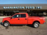 2011 Race Red Ford F150 XLT SuperCrew 4x4 #52725005