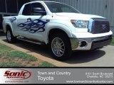 2010 Super White Toyota Tundra Double Cab #52809078