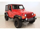 2006 Flame Red Jeep Wrangler Sport 4x4 #52809216