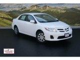 2011 Super White Toyota Corolla LE #52816539