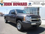 2011 Taupe Gray Metallic Chevrolet Silverado 1500 LS Extended Cab 4x4 #52817970