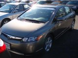 2006 Galaxy Gray Metallic Honda Civic EX Sedan #5211796