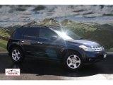 2003 Midnight Blue Pearl Nissan Murano SL AWD #52816552