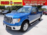 2010 Blue Flame Metallic Ford F150 XLT SuperCab #52817993