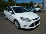 2012 Oxford White Ford Focus SEL Sedan #52817040