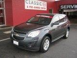 2010 Cyber Gray Metallic Chevrolet Equinox LS #52817524