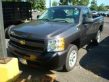 2011 Taupe Gray Metallic Chevrolet Silverado 1500 Regular Cab #52816583