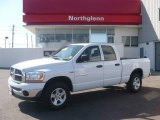 2006 Bright White Dodge Ram 1500 SLT Quad Cab 4x4 #5248543
