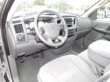 2007 Dodge Ram 1500 SLT Quad Cab Medium Slate Gray Interior