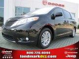 2011 Black Toyota Sienna XLE #52817113