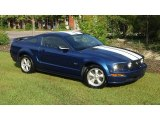 2007 Vista Blue Metallic Ford Mustang GT Premium Coupe #52817590