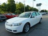 2008 White Suede Lincoln MKZ Sedan #52817123
