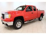 2009 GMC Sierra 2500HD Fire Red