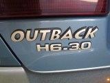 Subaru Outback 2002 Badges and Logos