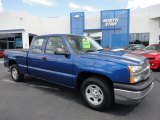 2004 Arrival Blue Metallic Chevrolet Silverado 1500 LS Extended Cab #52817186