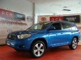 2008 Blue Streak Metallic Toyota Highlander Sport 4WD #52818113