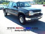 2003 Dark Gray Metallic Chevrolet Silverado 2500HD LS Crew Cab 4x4 #52817669