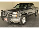 2004 Dark Gray Metallic Chevrolet Silverado 1500 Z71 Crew Cab 4x4 #52818140