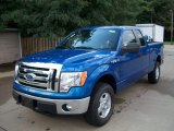2011 Blue Flame Metallic Ford F150 XLT SuperCab 4x4 #52809301