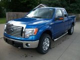 2011 Blue Flame Metallic Ford F150 XLT SuperCab 4x4 #52809302