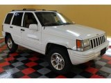 1996 Stone White Jeep Grand Cherokee Limited 4x4 #52817691