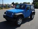 2011 Cosmos Blue Jeep Wrangler Sport S 4x4 #52809367