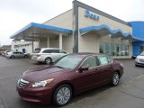 2011 Basque Red Pearl Honda Accord EX-L Sedan #52809379