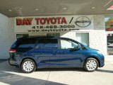 2011 South Pacific Blue Pearl Toyota Sienna XLE AWD #52816803