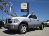 2009 Bright Silver Metallic Dodge Ram 1500 TRX4 Quad Cab 4x4 #52817263