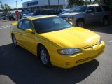 Competition Yellow Chevrolet Monte Carlo in 2003