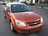2007 Sunburst Orange Metallic Chevrolet Cobalt LS Sedan #52818218