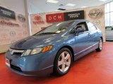2007 Atomic Blue Metallic Honda Civic EX Sedan #52809406