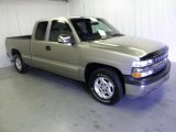 2001 Sunset Gold Metallic Chevrolet Silverado 1500 LS Extended Cab #52817788