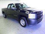 2008 Dark Blue Metallic Chevrolet Silverado 1500 Work Truck Extended Cab #52817789