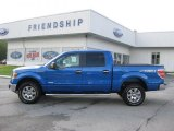 2011 Blue Flame Metallic Ford F150 XLT SuperCrew 4x4 #52816858