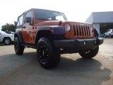 2010 Mango Tango Pearl Jeep Wrangler Sport 4x4 #52817822