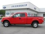 2011 Race Red Ford F150 XLT SuperCab 4x4 #52816876