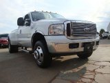 2005 Oxford White Ford F350 Super Duty Lariat SuperCab 4x4 Dually #52817825