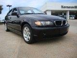 2004 Jet Black BMW 3 Series 325xi Sedan #52817826