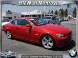 2008 Crimson Red BMW 3 Series 335i Convertible #52817325