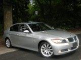 2006 Titanium Silver Metallic BMW 3 Series 330xi Sedan #52818278