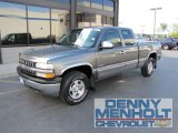2000 Charcoal Gray Metallic Chevrolet Silverado 1500 LS Extended Cab 4x4 #52817838