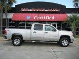 2009 Silver Birch Metallic GMC Sierra 2500HD SLE Crew Cab #52816933
