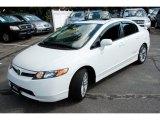 2007 Taffeta White Honda Civic Si Sedan #52816938