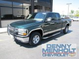2002 Forest Green Metallic Chevrolet Silverado 1500 LT Extended Cab 4x4 #52817851