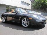 2008 Atlas Grey Metallic Porsche 911 Carrera Cabriolet #52817861