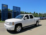 2011 Summit White Chevrolet Silverado 1500 LT Crew Cab 4x4 #52816953