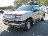 2004 Sandstone Metallic Chevrolet Silverado 1500 Z71 Extended Cab 4x4 #52818353