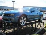 2010 Aqua Blue Metallic Chevrolet Camaro LT/RS Coupe #52818359